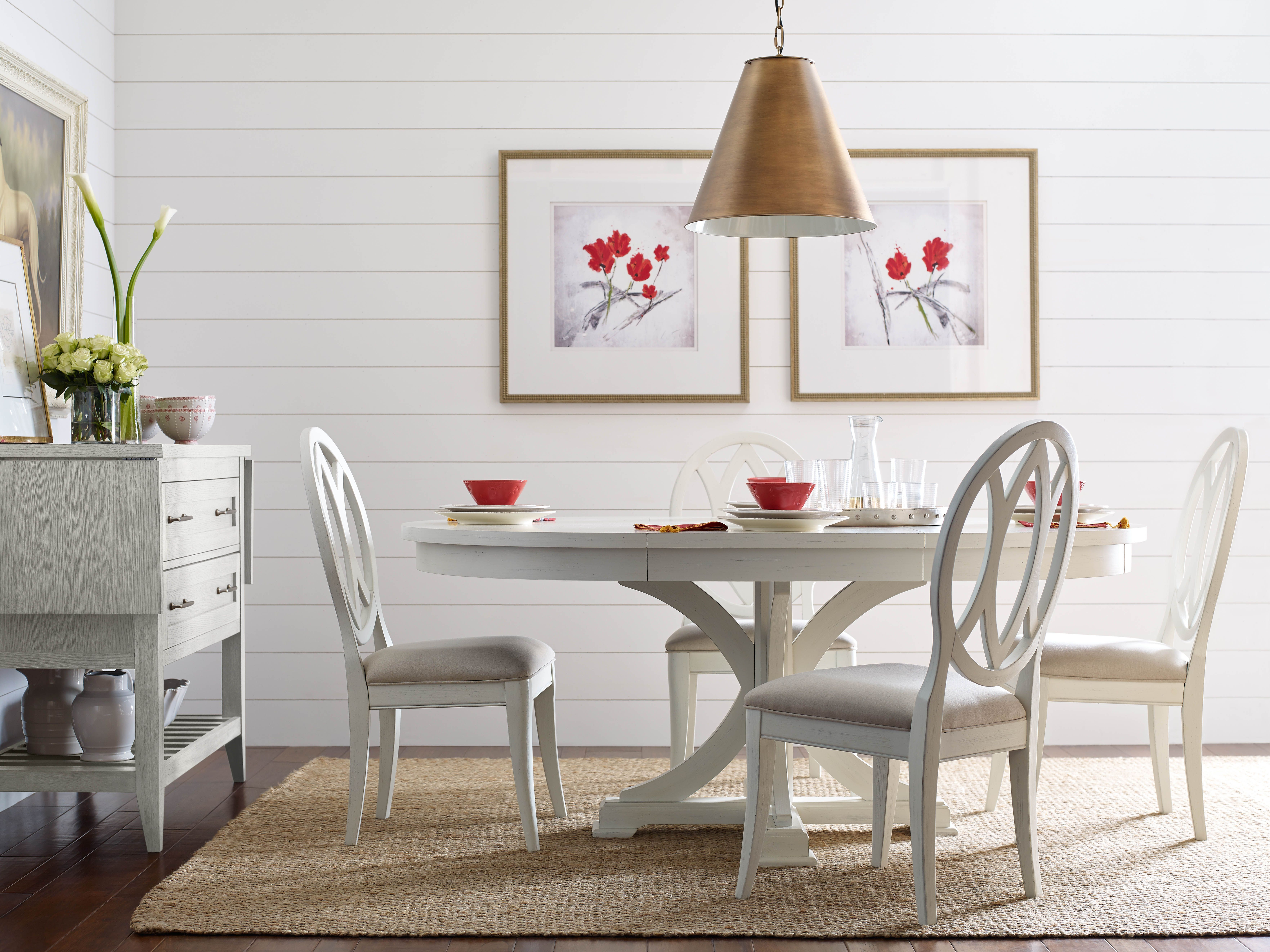 Rachael Ray S Everyday Dining Room In Sea Salt Legacy Classic Furniture Furniture Homefurniture Round Dining Room Round Dining Room Sets Casual Dining Rooms