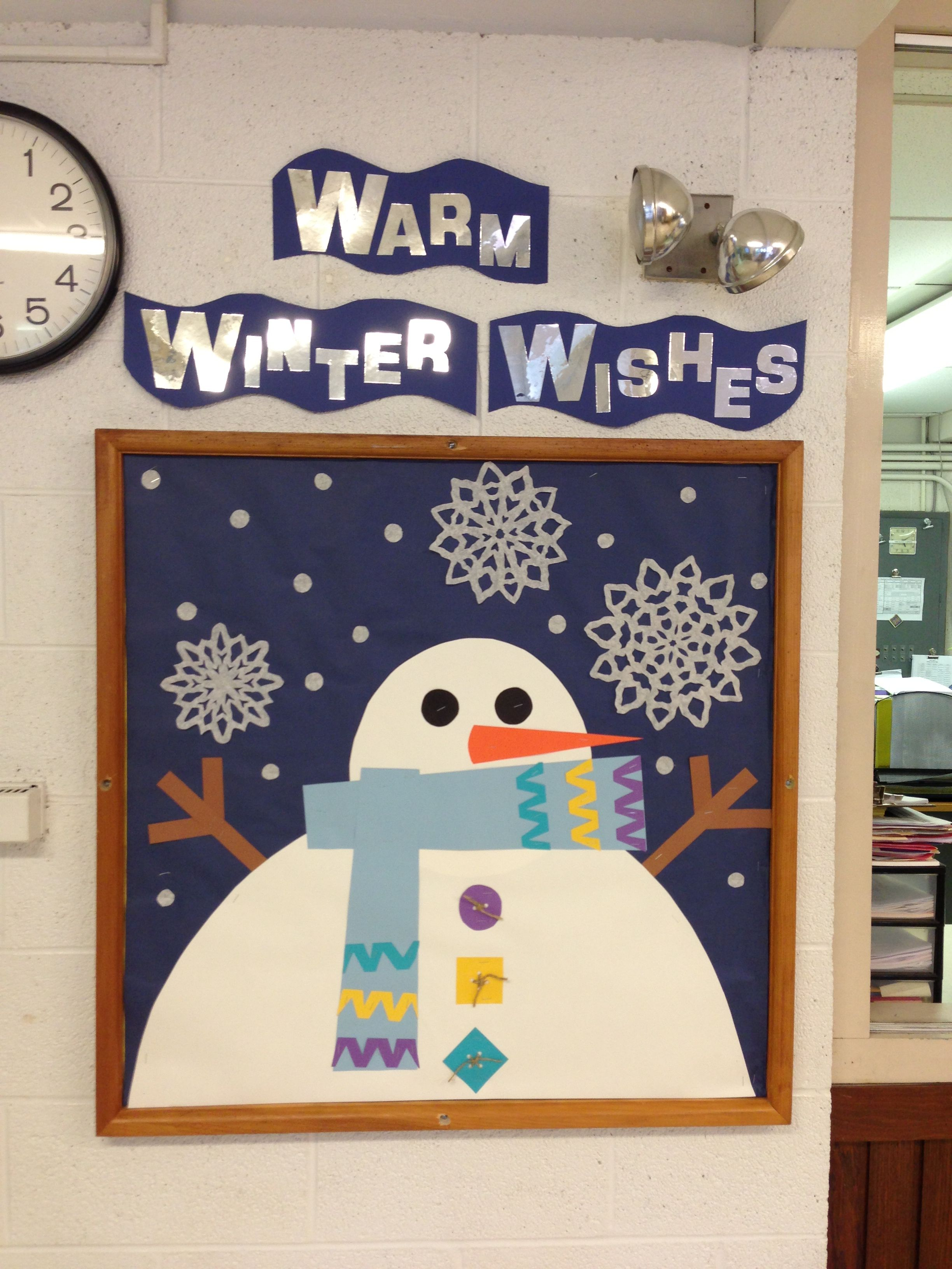winter bulletin board bulletin boards pinterest bulletin
