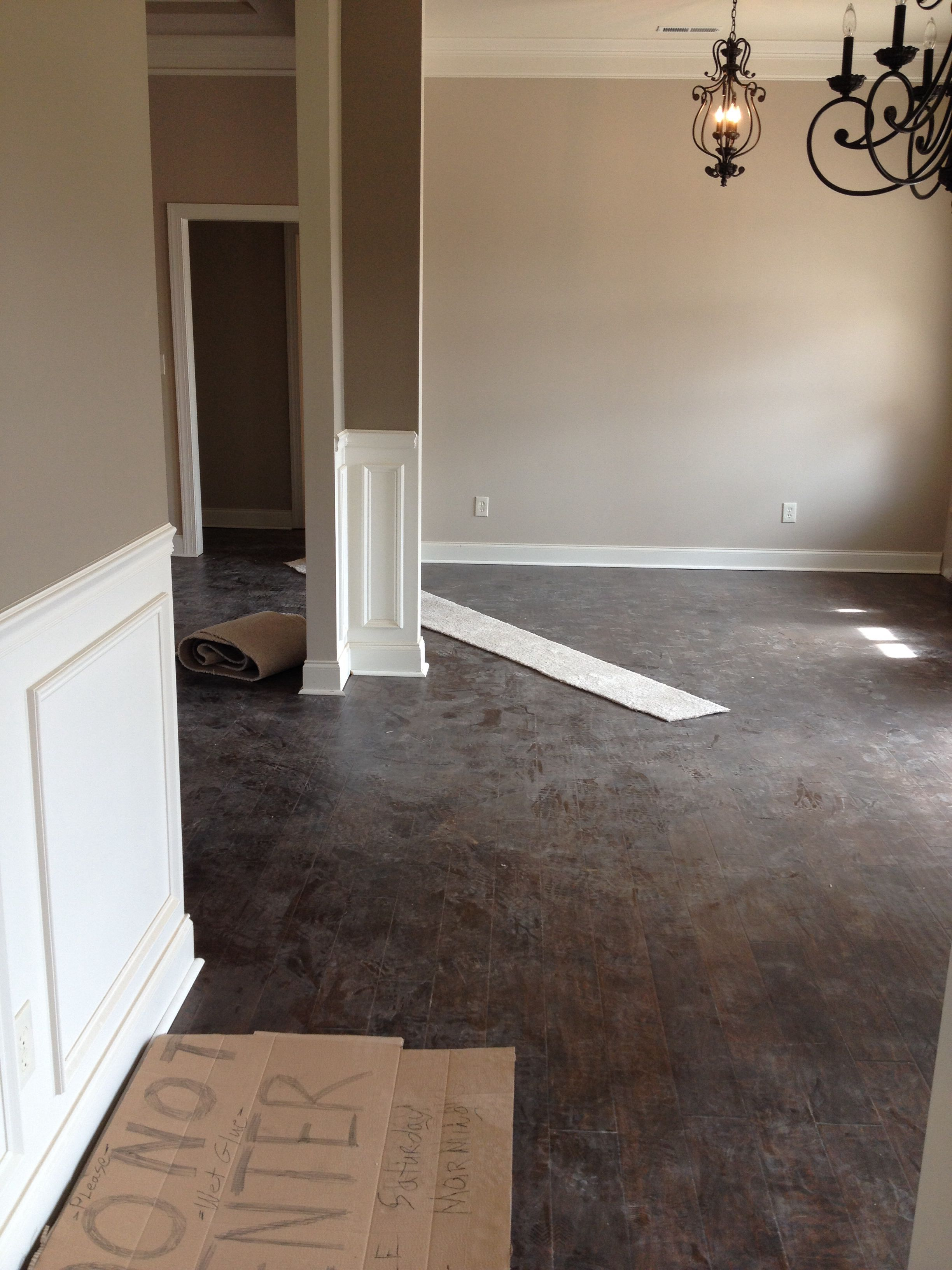 Pin On Projects To Try #two #tone #paint #living #room