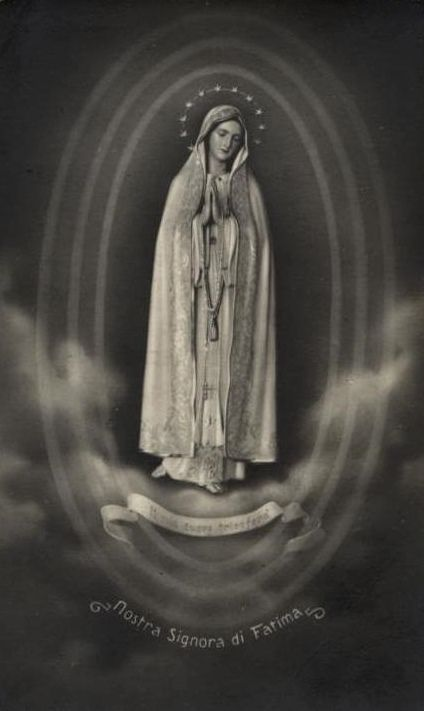 Nostra Signora Di Fatima Blessed Mother Mary Blessed Mother