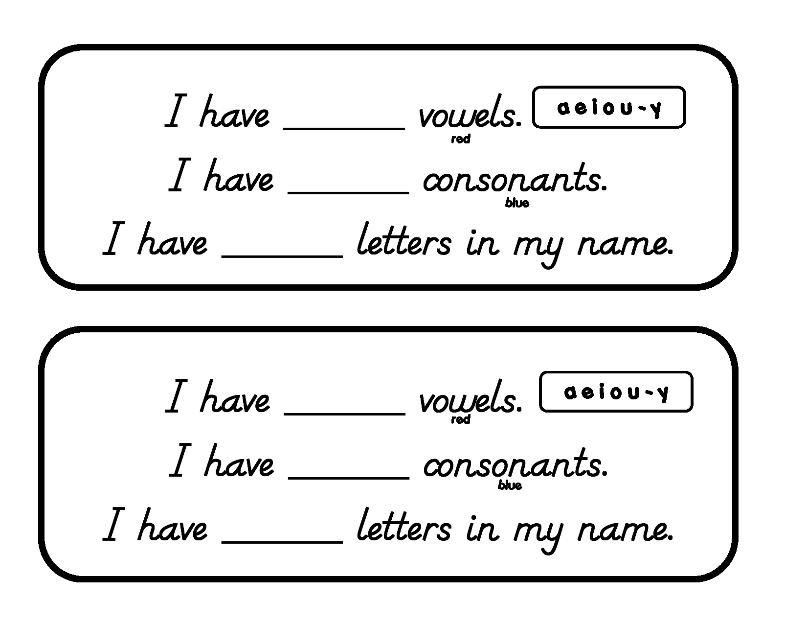 Vowels And Consonants In Name