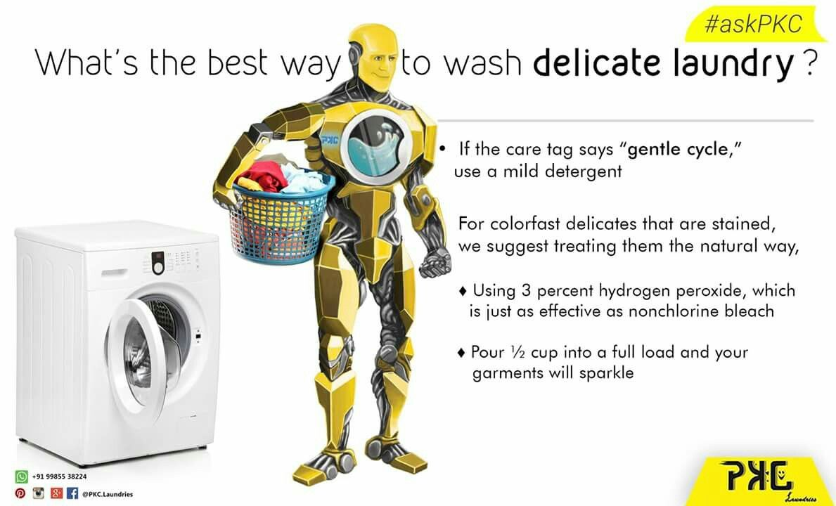 Askpkc Whats The Best Way To Wash Delicate Laundry Facebook