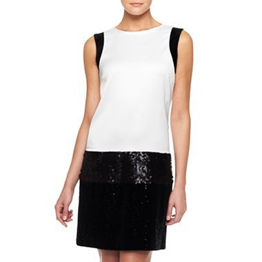 MNG By Mango® Colorblock Dress - jcpenney
