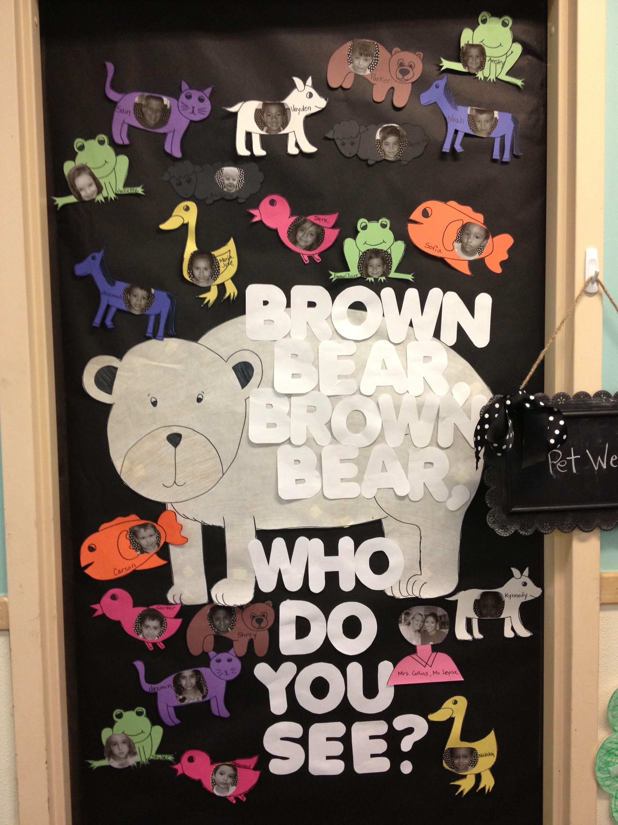 Brown Bear Theme Week
