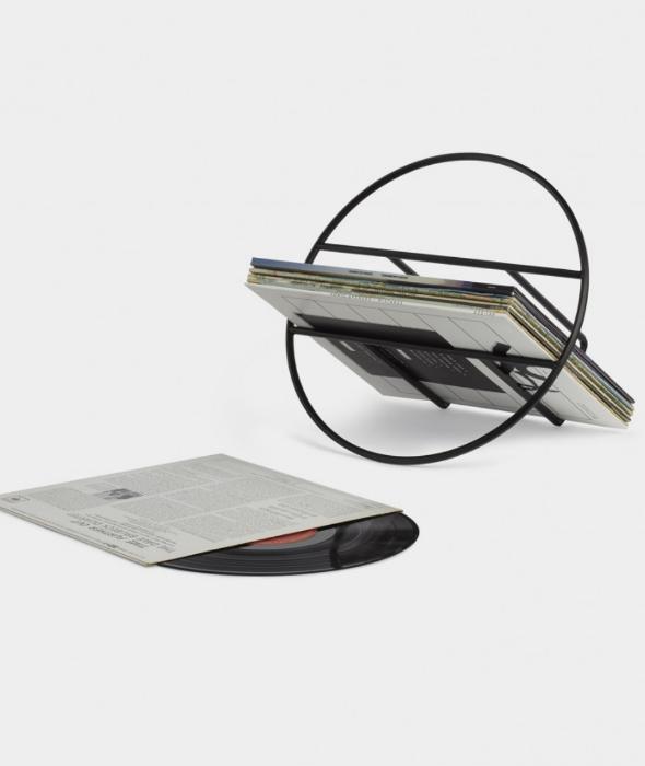 Hoop Magazine Racks Magazine Rack Stylish Flooring Vinyl Record Display