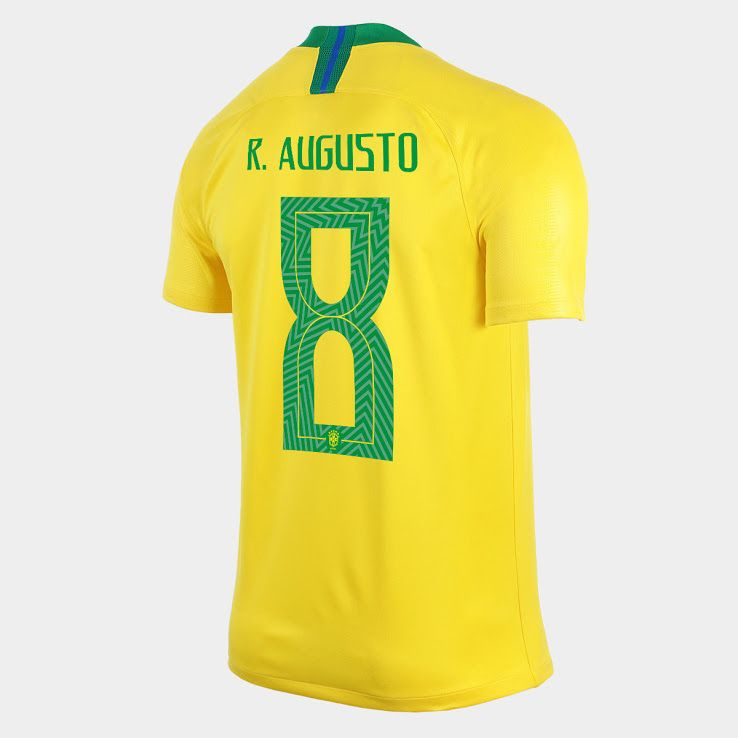 Extraordinary Nike Brazil 2018 World Cup Font Revealed - Footy Headlines 625b25199a484