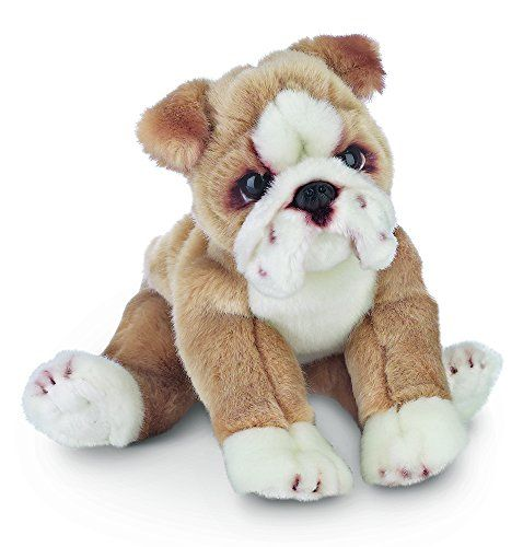 Bearington Tug Bulldog Plush Stuffed Animal Puppy Dog 13 Https
