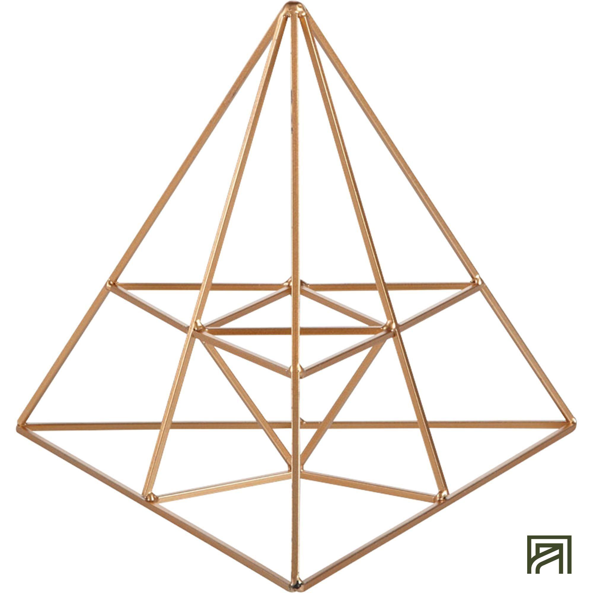 Alinea Ari Decorative Object Wired Pyramid Color Copper H20cm Alinea Decoration Inspiration Meubles Et Deco Objet Deco Decoration Objet