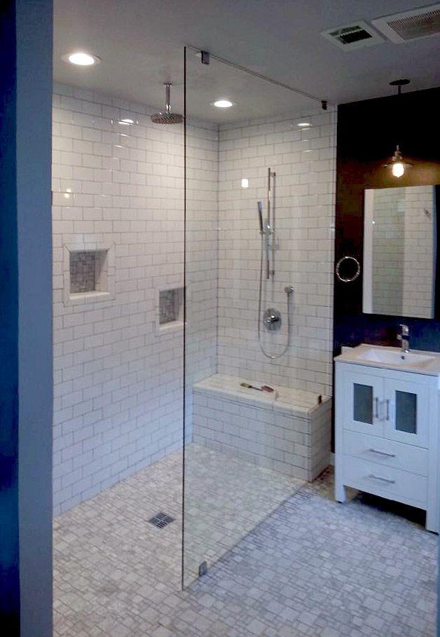 Frameless Glass Shower Panel | Design | Pinterest | Glass shower ...