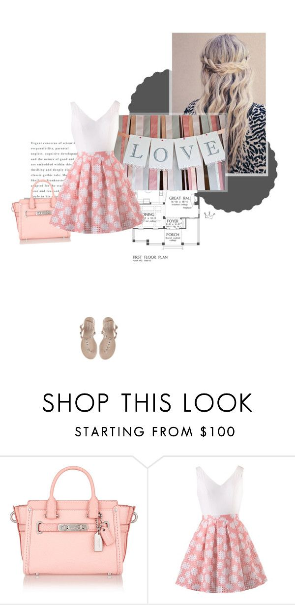 """Love Softly"" by minuetprincess ❤ liked on Polyvore featuring Coach, women's clothing, women, female, woman, misses and juniors"
