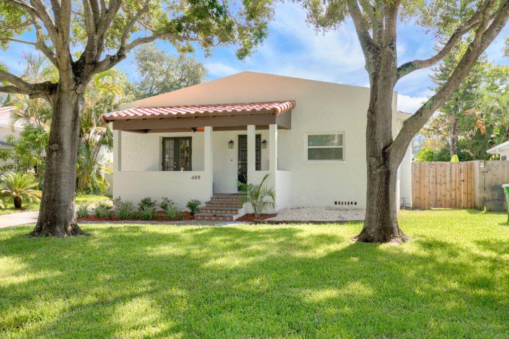 Spanish Revival Bungalow Davis island, Tampa real estate
