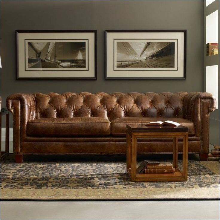 Terrific Leather Sofa Couch Have A Seat On Pinterest Leather Sofas Settees And Loveseats Genuine Leather Sofa Living Room Leather Chesterfield Living Room