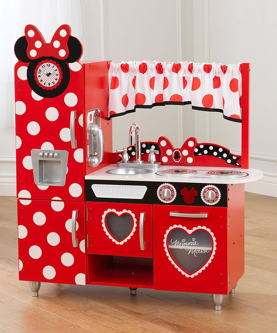Another Great Find On Zulily Minnie Mouse Vintage Kitchen Play Set