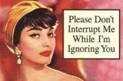 ignoring you @Lindsay Dillon Dillon Tyler @Laura Jayson Jayson Kordick @Erica Cerulo Cerulo Tomassi @Robyn Elizabeth
