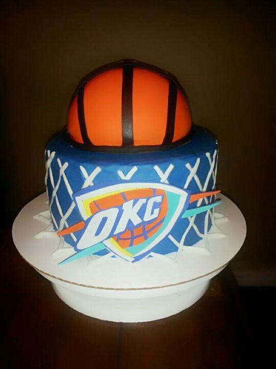 OKC Thunder cake facebook.com/cakesbyjenhavenar | Cakes by Jen ...