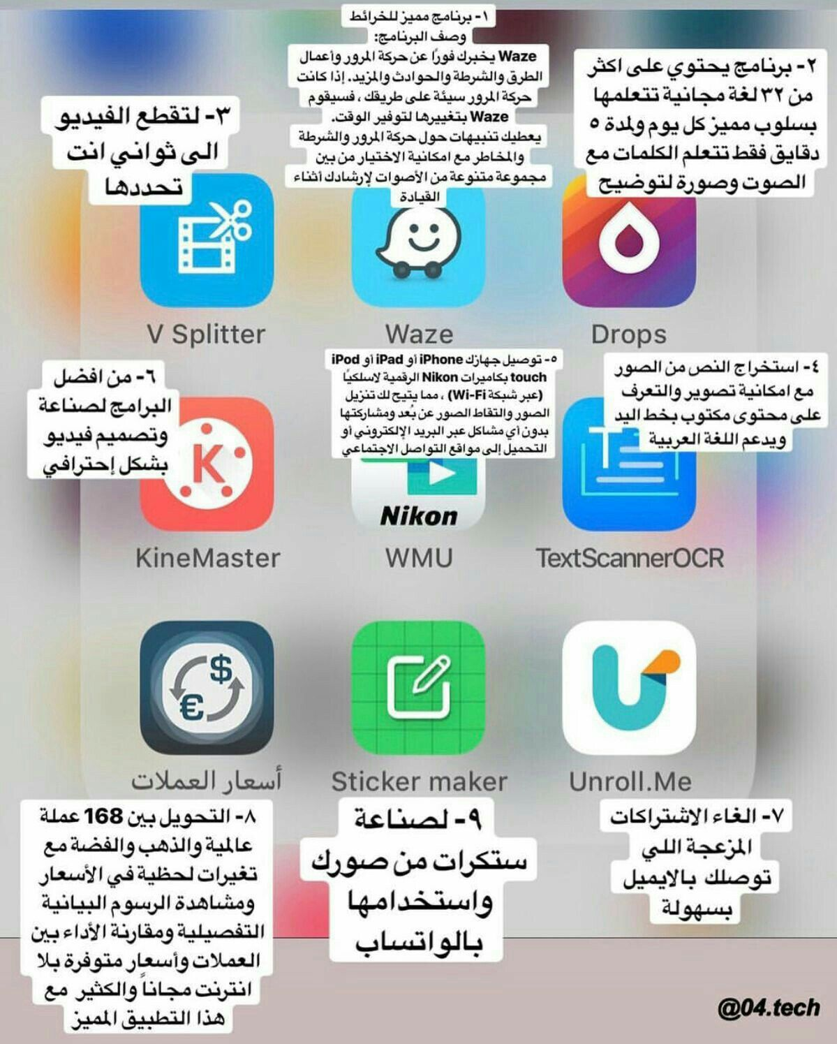 Pin By حفصاء العبادي On برامج Iphone Photo Editor App Application Iphone Iphone App Layout
