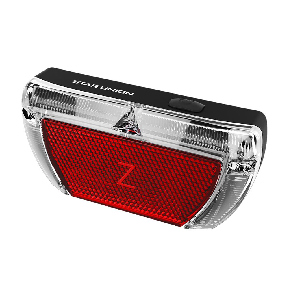 Bicycle Bike Cycling Brake Lights Red LED Rear Tail Back Lamps Safety Warning