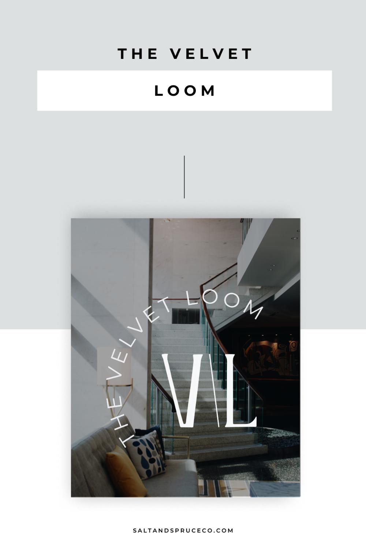 The Velvet Loom Saltandspruceco Com In 2020 Web Design Tips Velvet Loom