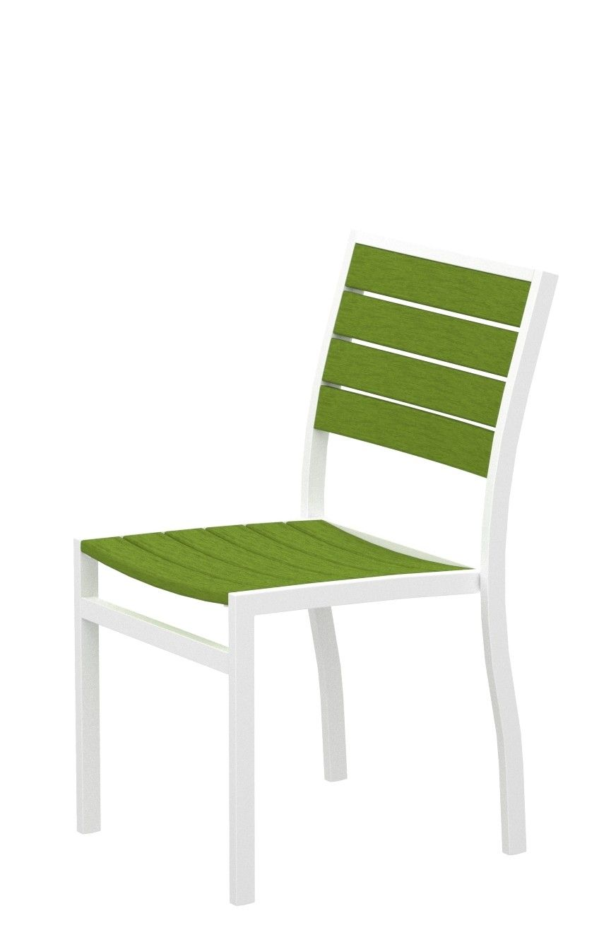 Euro dining side chair outdoor dining dining area patio dining chairs outdoor chairs