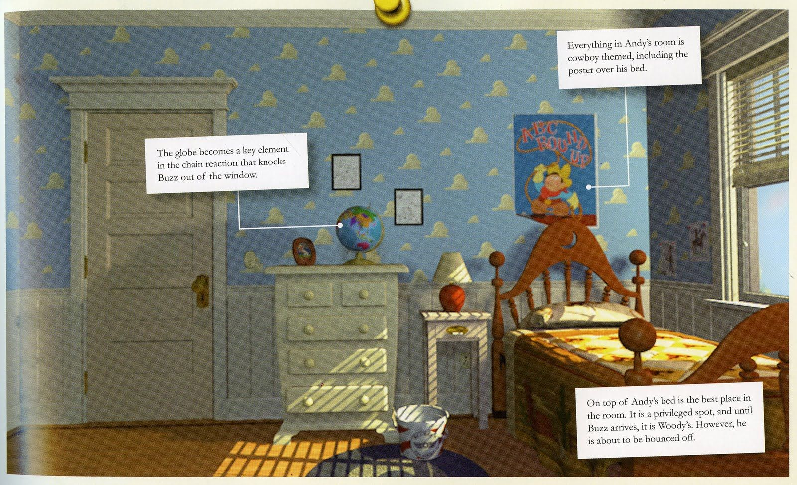 Andy S Room From Toy Story We Re Planning To Decorate The Nursery Like Andy S First Bedroom Toy Story Bedroom Toy Story Room Toy Story Nursery