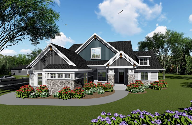 From Houseplansandmore Com Ranch Style House Plans Craftsman House Plans Ranch House Plans