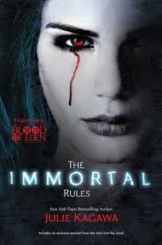 A Girl and Her Kindle: The Immortal Rules by Julie Kagawa - KBOD