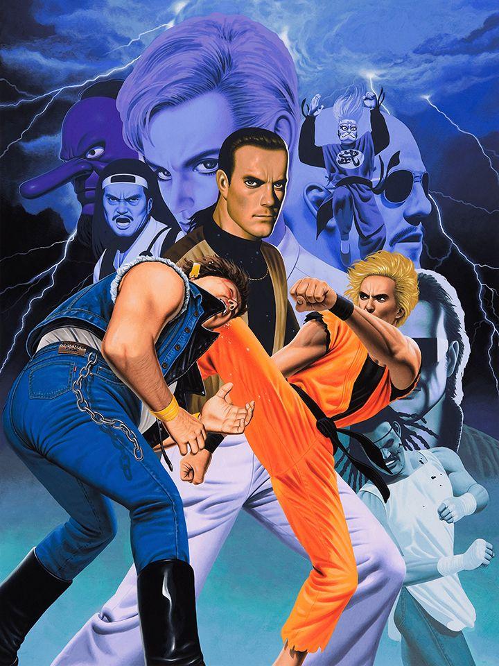 Art Of Fighting Poster Art Of Fighting Retro Gaming Art Capcom Vs Snk