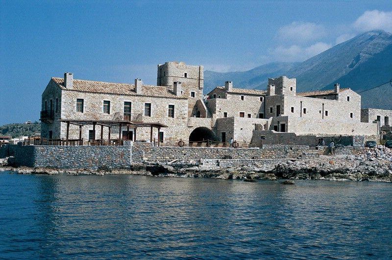 Kyrimai Hotel Mani In Gerolimenas Peloponnese Greece