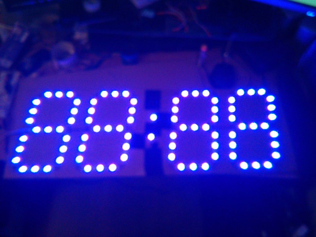 Big auto dim room wall clock using arduino and ws2811 led driver big auto dim room wall clock using arduino and ws2811 led driver mozeypictures Images