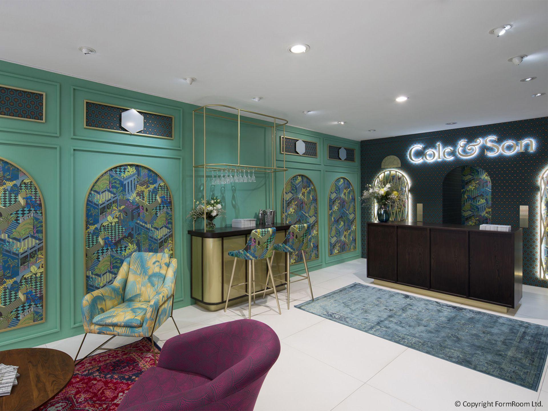 Cole Son Paris Deco Off Showroom Retail Interior Design