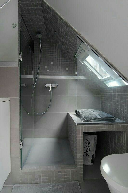 Pin By Louise Mangan On Bathroom Inspo Small Attic