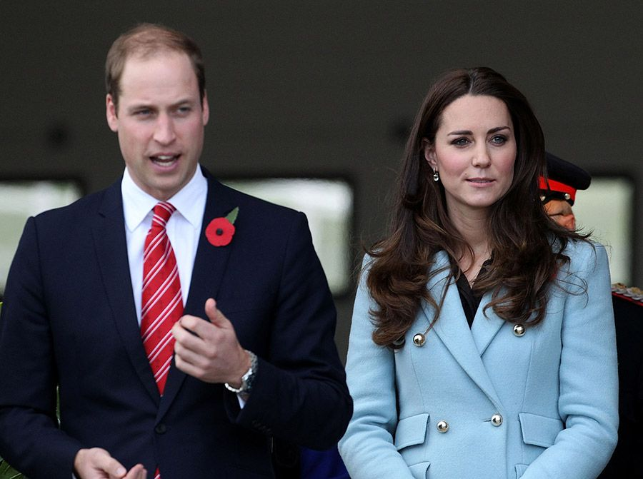 Prince William and Duchess Kate arrive in Wales #visitwales