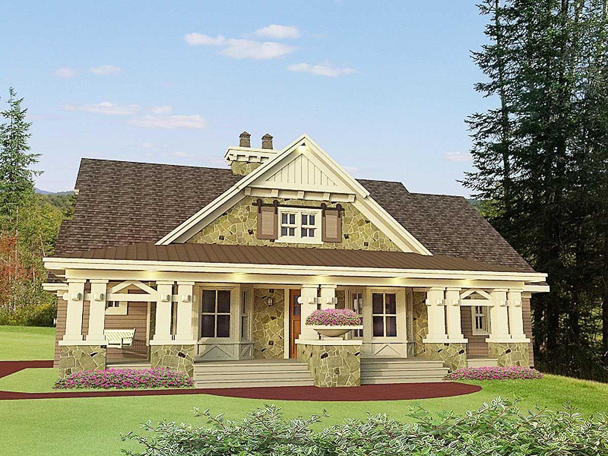 Plan 14604RK Beautifully Designed Craftsman Home Plan