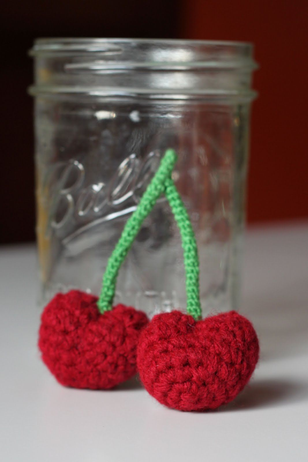 Amigurumi Food: Cherries ~ Free Pattern | Crochet food | Pinterest ...