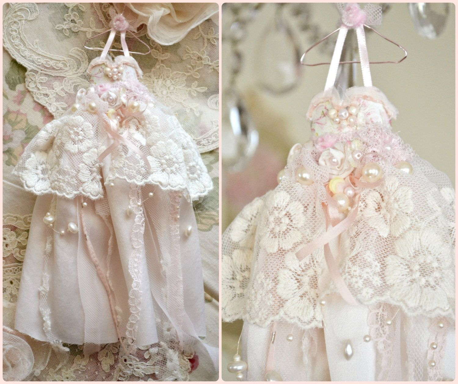 Hand made fairy bridal gown by Jennelise Rose.