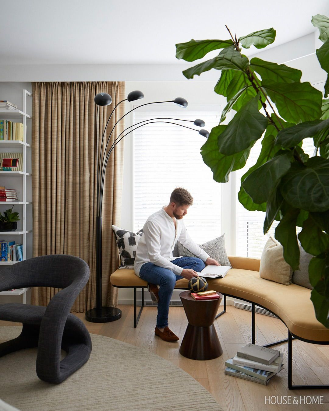 This Handsome Apartment Redefines Condo Living in 2020