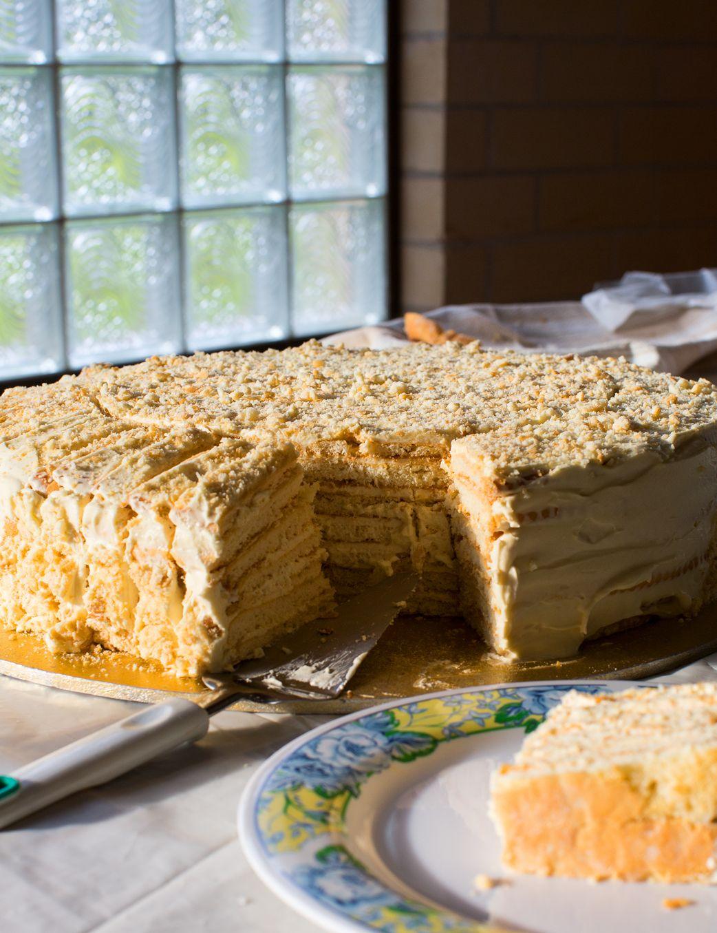 Home-style layer cake (mikada) - Russian | Recipes - Dessert