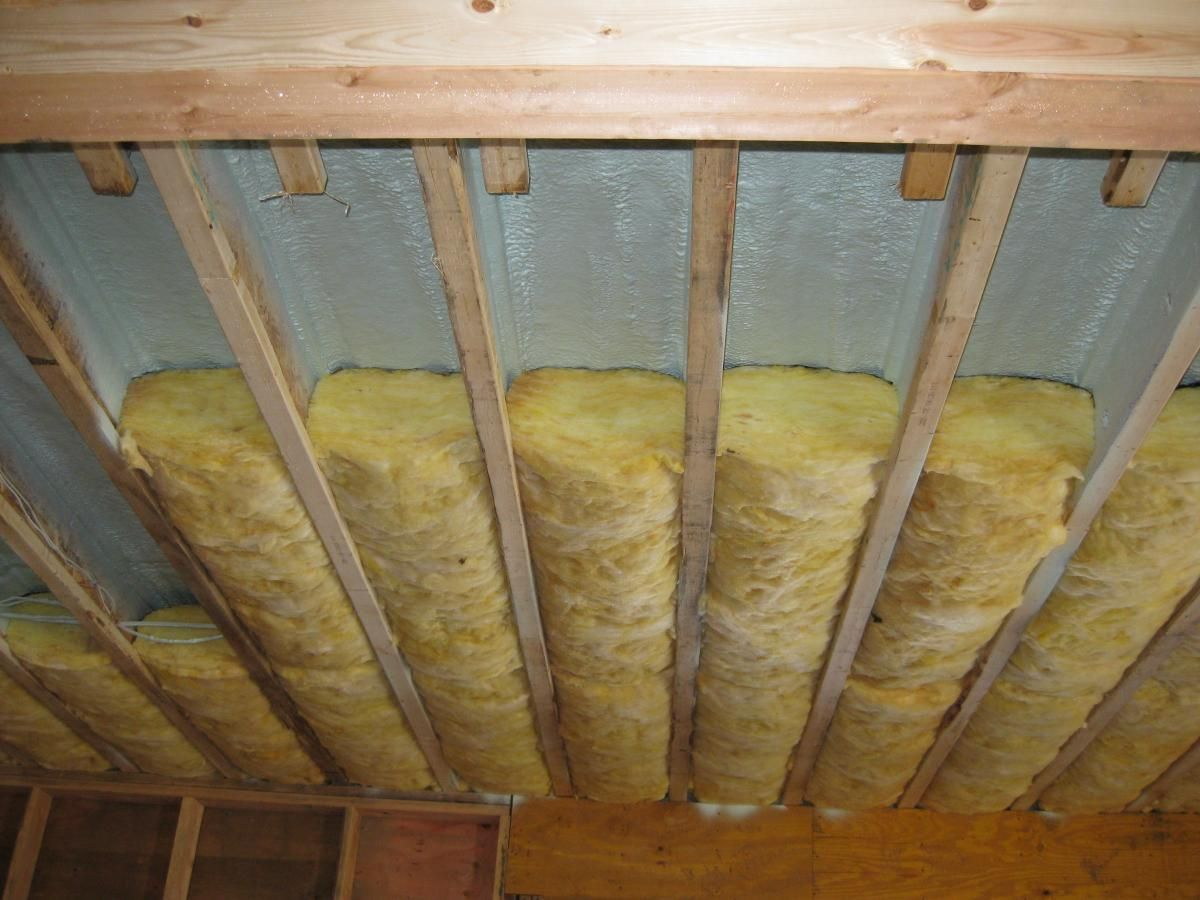 Air Sealing The Ceiling Before Putting Insulation In Derwyn