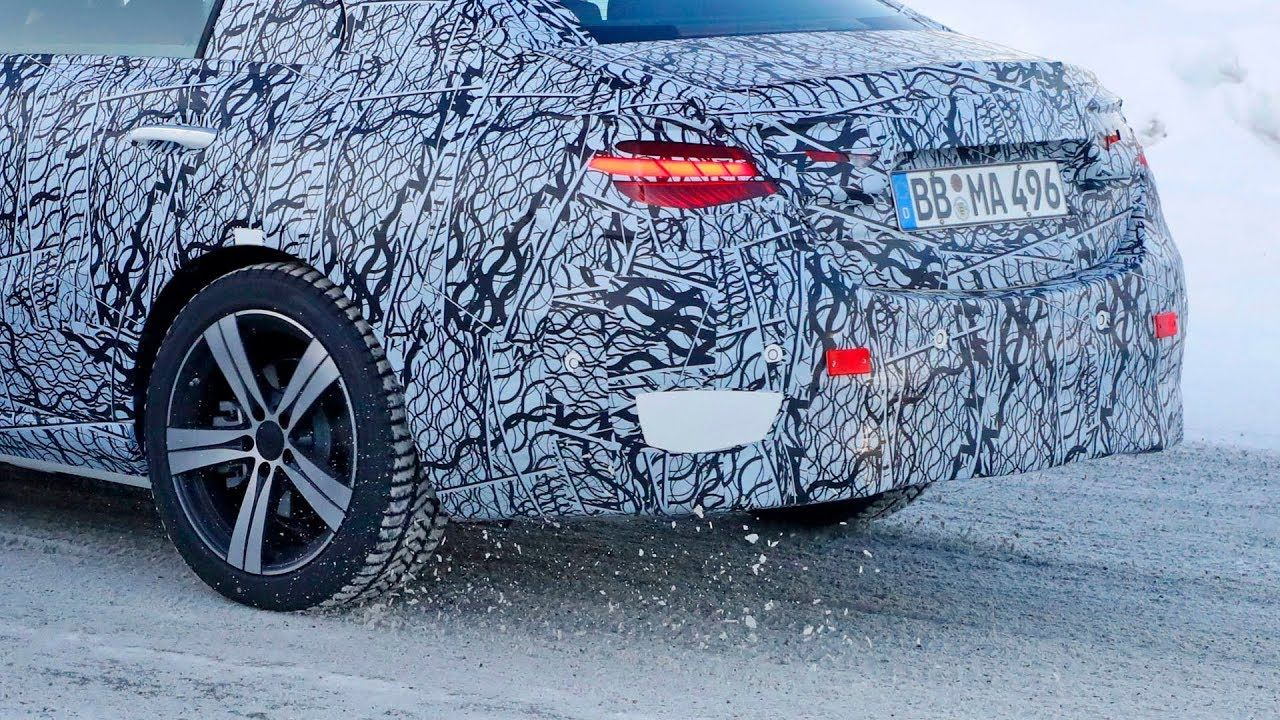 2021 Mercedes Benz C Class W206 Prototype In The Winter Tests In