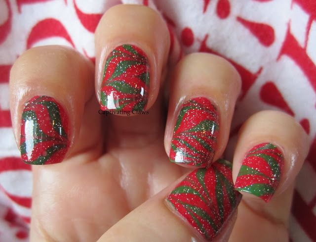 Captivating Claws- Christmas Marble