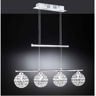 Hanglamp Wofi Holly 4-lichts 7568.04.01.0000