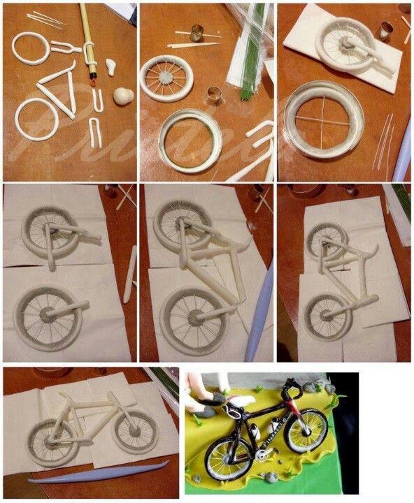 Fondant Fahrrad Fahrrad Torte In 2019 Pinterest Fondant
