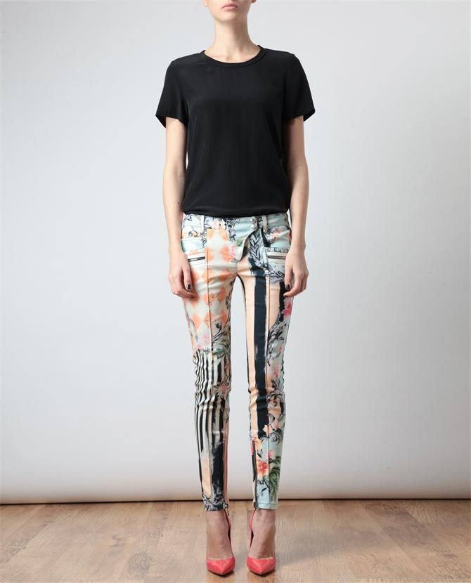 BALMAIN I love you. I am obsessed with these jeans! <3