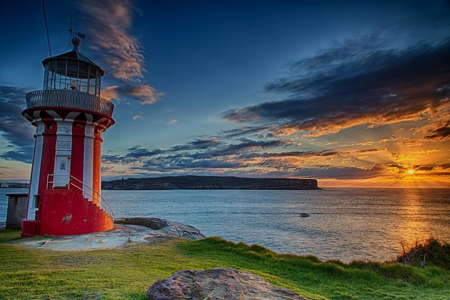 A new day at the Hornby Lighthouse
