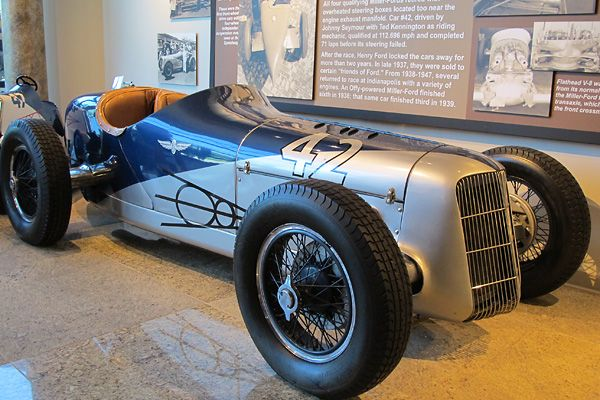Harry Miller Built This Miller Ford To Race In The 1935 Indianapolis