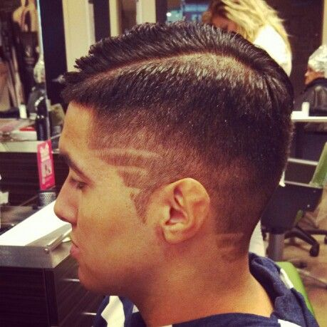 Some of own work mens cut, steps, graphics, combover