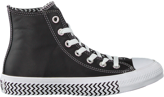 Zwarte Converse Sneakers Chuck Taylor All Star Hi Dames ...