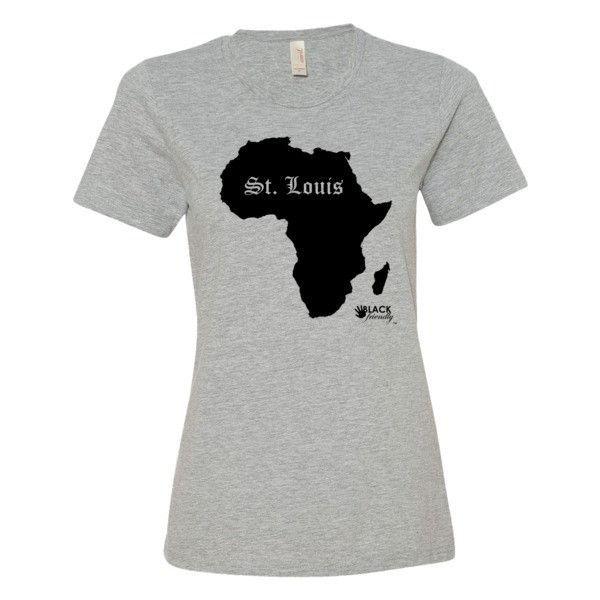 St Louis - Black Silo - Women's short sleeve t-shirt