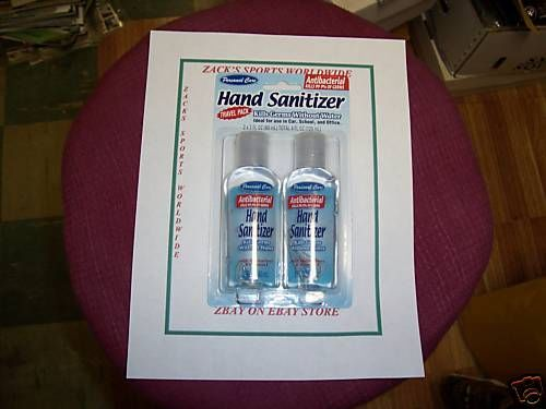 Hand Sanitizer 2 Pack Great To Carry Anywhere Hand Sanitizer