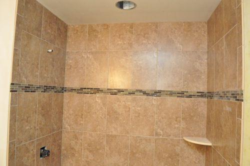 bathroom shower walls diy tile